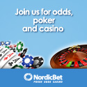NordicBet Special Xmas2010 promotion - 24 days - 24 gifts