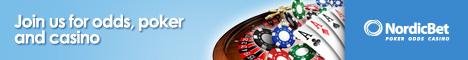 NordicBet €15k WeeklyRake Race  starts Apr26 Impressions
